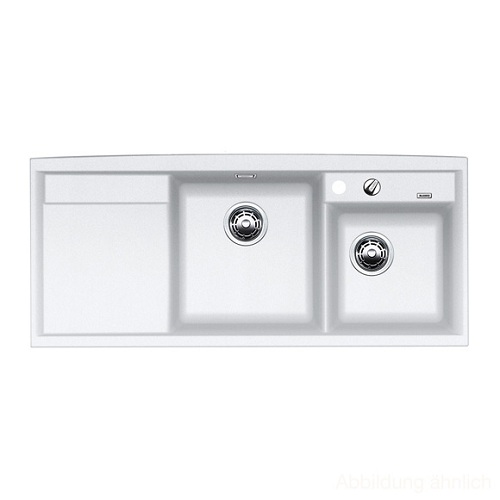 Blanco Silgranit Kitchen Sinks : Blanco Axia II 8 S Silgranit Kitchen Sink