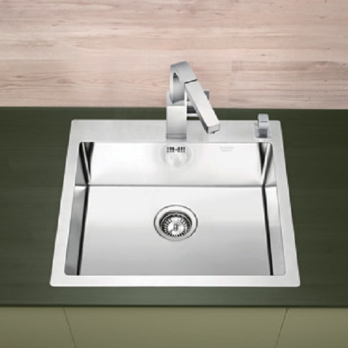 Blanco Stainless Sinks : Blanco Claron 400-IF/A Stainless Steel Kitchen Sink