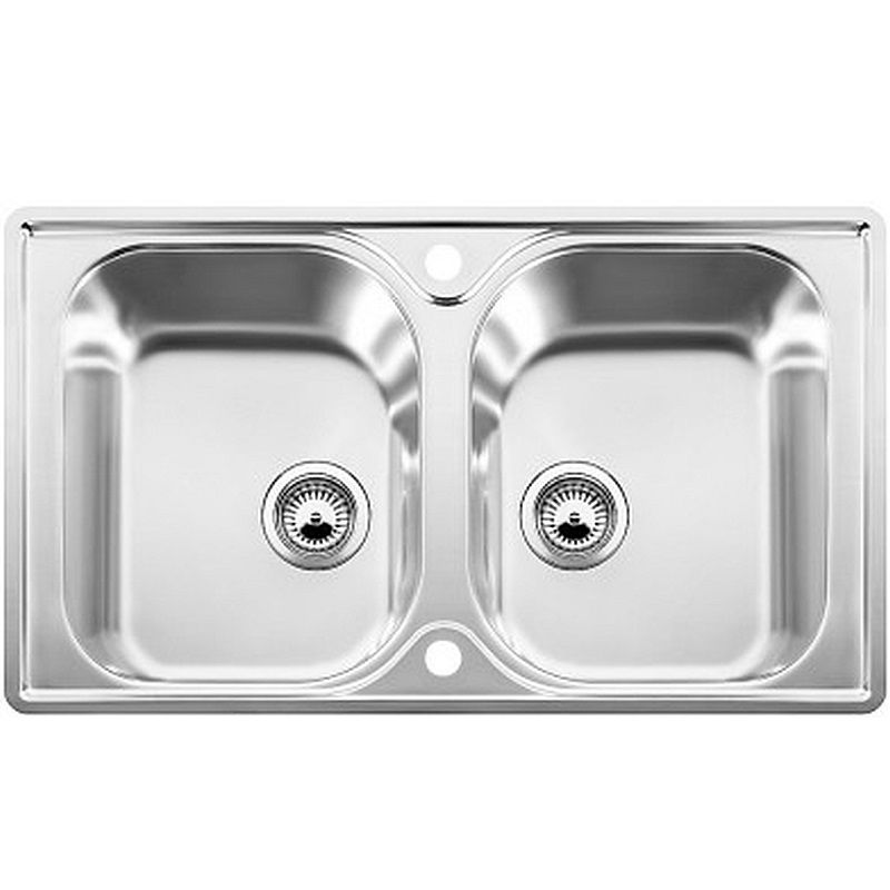 Blanco Stainless Sinks : Blanco Lantos 8-IF Stainless Steel Sink