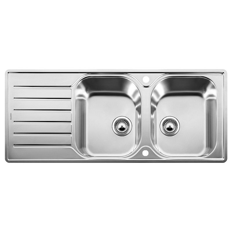 Compact Kitchen Sink : Blanco Lantos 8 S-IF Compact Stainless Steel Sink