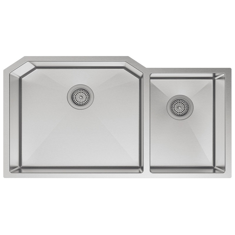 Kohler Strive Sink : Kohler Strive Stainless Steel Two Bowl Kitchen Sink - 5282-NA