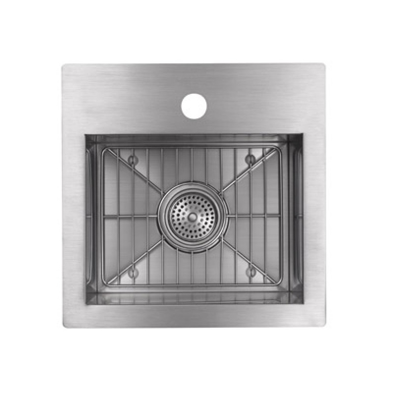 Small Stainless Steel Sinks Uk : ... sized as a prep sink or as a bar sink in an entertainment area this