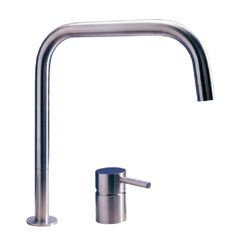 MGS F2 SQ Stainless Steel Kitchen Tap