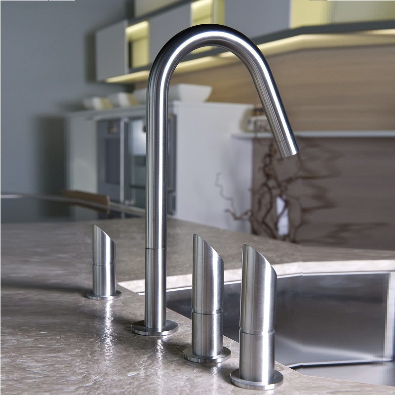 Franke Vela Sink : MGS Vela DF Stainless Steel Mains and Filtered Water Tap