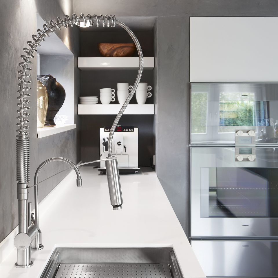 mgs vela ld stainless steel kitchen tap the vela ld features the same ...