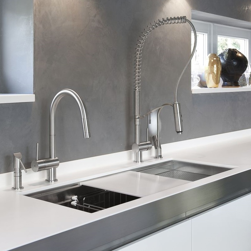 Franke Vela Sink : mgs vela stainless steel kitchen tap the vela is an iconic design from ...