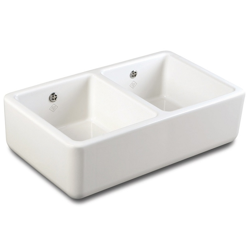 Shaws Double 800 Ceramic Sink