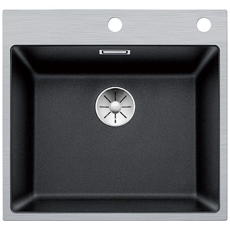 Blanco Subline 500-IF/A Steel Frame Inset Kitchen Sink