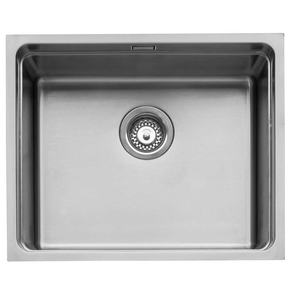Caple Axle 50 Stainless Steel Inset or Undermount Sink