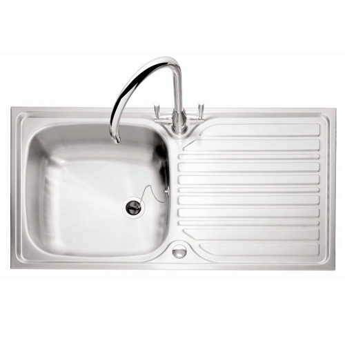 Caple Crane 101 Stainless Steel Inset Kitchen Sink