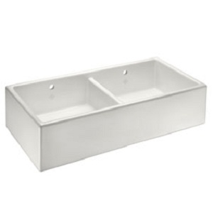 Double Bowl Ceramic Belfast Kitchen Sinks