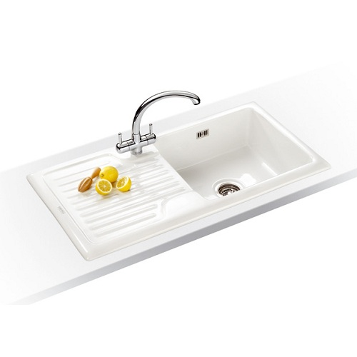 Inset White Ceramic Sinks