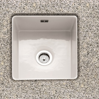 Single Bowl Undermount Ceramic Kitchen Sinks
