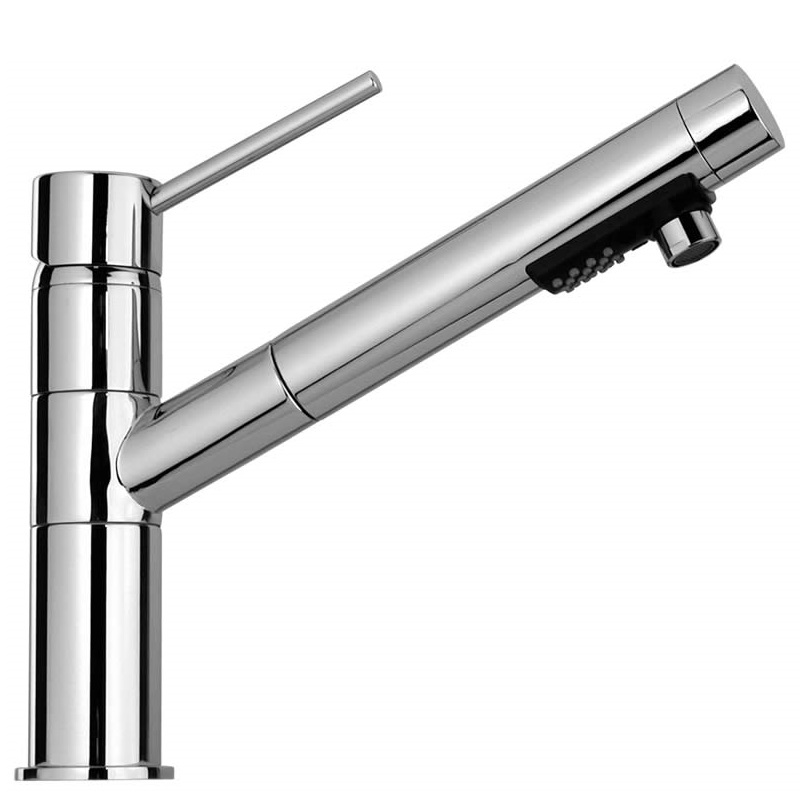 Paini Cox Single Lever Pull Out Kitchen Mixer Tap