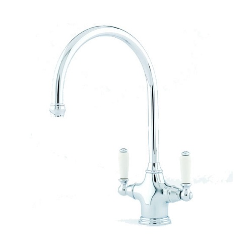 Perrin and Rowe Phoenician Kitchen Tap with Lever Handles