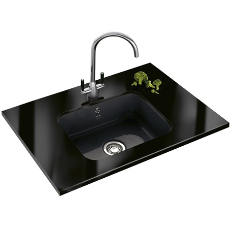 Undermount Black Ceramic Kitchen Sinks